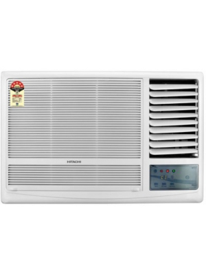 Hitachi 1 Ton 5 Star Window AC White(RAW511KUD, Copper Condenser)