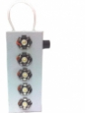 Airnet 5 Led Chargeable Metal White Emergency Lights(White)