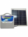 Green Pyramid Solar SunBox Supreme with Solar Charging (10W Panel) Solar Lights(Grey)