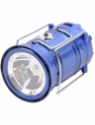 SJ 220V Rechargeable Solar 6-LED Camping Lantern Light with Power Bank Tent Lamp Emergency Lights(Mu