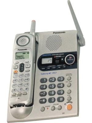 Panasonic KX-TG2358 Cordless Landline Phone(Silver)