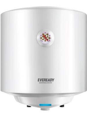 Eveready 15 L Storage Water Geyser(White, Dominica15VM)