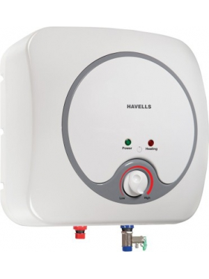 Havells 6 L Storage Water Geyser(White, Grey, Quatro_6L)