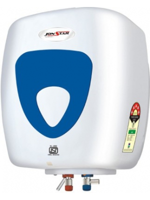 Jonstar 15 L Storage Water Geyser(White, Blue, Superb)
