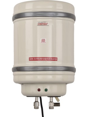 United 25 L Storage Water Geyser(White, ABS 25L G)