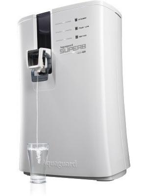 Aquaguard Superb RO+UV+UF 6.5 L RO + UV +UF Water Purifier(Black and White)
