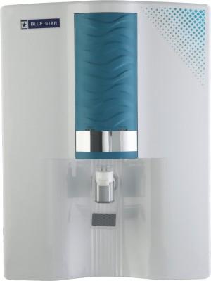 Blue Star Majesto RO+UV 8 L RO + UV Water Purifier(White, Blue)