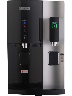 Blue Star Stella RO+UV 8.2 L RO + UV Water Purifier(Black)