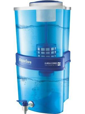 Eureka Forbes Aquasure Xtra Tuff 15 L RO Water Purifier(White, Blue)