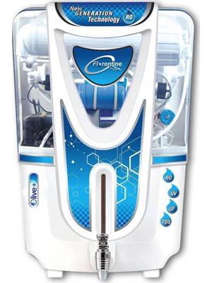 Florentine Homes Olive Plus Alkaline 12 L RO + UV + UF + TDS Water Purifier