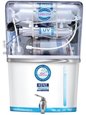Kent Super Star 8 L RO + UV +UF Water Purifier(Blue)