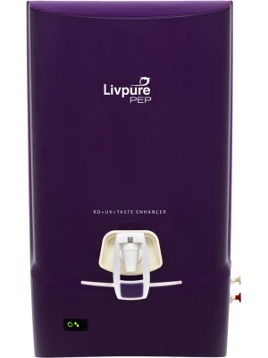 Livpure Pep 7 L RO Water Purifier(Purple)