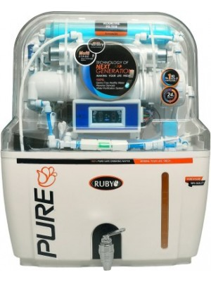 Ruby Autoflush With Display 12 RO+UV Water Purifier