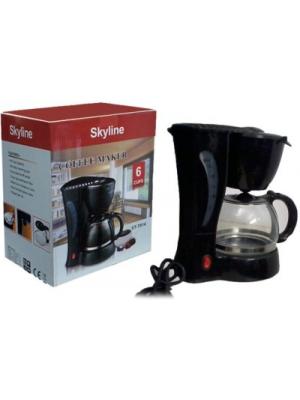 Skyline VT7014 6 cups Coffee Maker(Black)