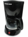 Black & Decker DCM 600 IN 8 Cups Coffee Maker(Black)