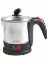 Clearline 8-in-1 multicook Electric Kettle(1.2 L, Silver)
