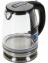 REDMOND RK-G127-E Electric Kettle(1.7 L, Clear glass, Black, Blue illumination)