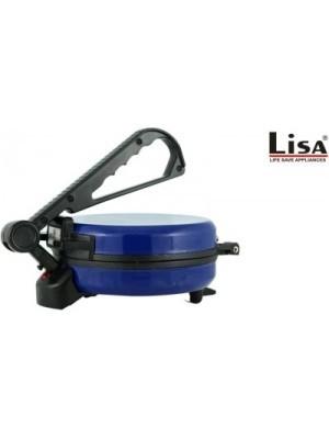 lisa blue electric, Roti/Khakhra Maker(Blue)