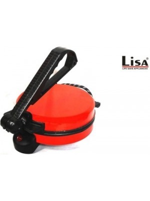 lisa red electric,, Roti/Khakhra Maker(Red)