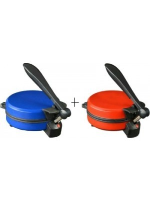 MSE Combo Of Eagle_A one-02 Roti/Khakhra Maker(Red)
