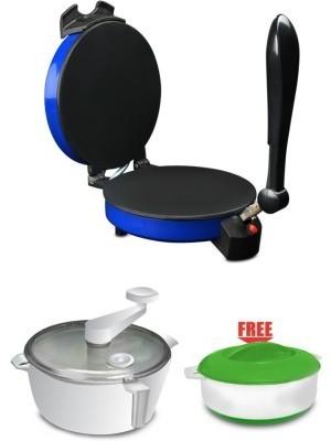 Spice Maxx Spice Maxx Roti Maker Roti/Khakhra Maker(Blue, Red, Cheery, Silver)