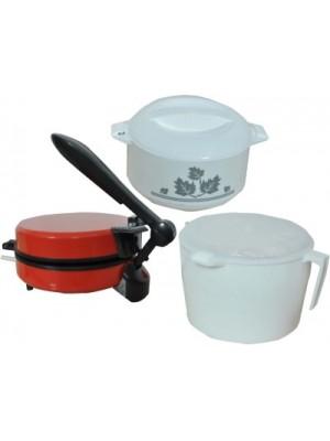 WELLWON ROTI MAKER COMBO RED Roti/Khakhra Maker(Red)