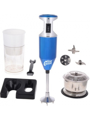 First Choice FCBlue with Attachment 200 W Hand Blender(Blue)