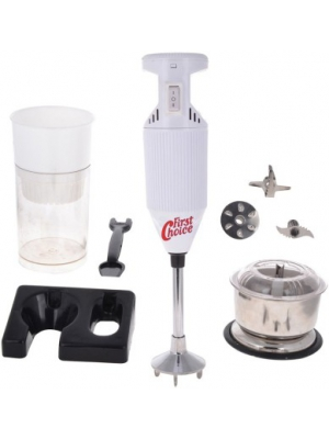 First Choice FCWhite with Attachment 200 W Hand Blender(White)