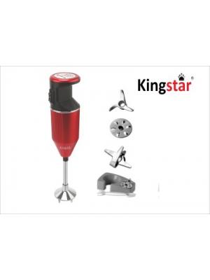 Kingstar BMW 200 W Hand Blender(Red, Black)