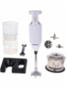 rotomix Combo Pack of Chopper SM-8 Plus 200 W Hand Blender(White)