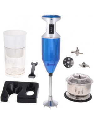 Sunmeet SMBlue with Attachment 200 W Hand Blender(Blue)