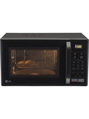 LG 21 L Convection Microwave Oven(MC2146BL, Black)