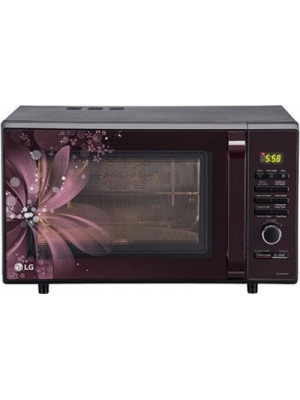 LG 28 L Convection Microwave Oven(MC2886BRUM, Black)