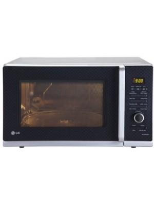 LG 32 L Convection Microwave Oven(MC3283AMG, Black Checker)