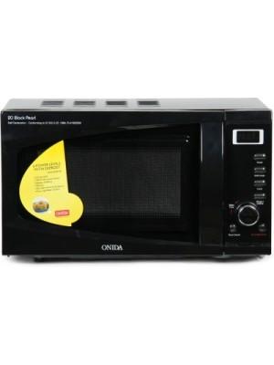 Onida 20 L Grill Microwave Oven(MO20GJP22B, Black Pearl)