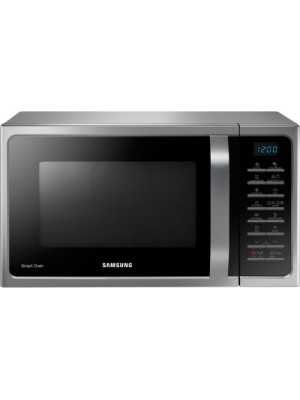 SAMSUNG 28 L Convection Microwave Oven(MC28H5015VS, Silver)