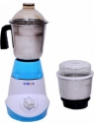 Heatron Easy to use 450 W Mixer Grinder(White & Sky Blue, 2 Jars)