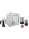 Jaipan with 3 S.S. Jars 500 W Juicer Mixer Grinder(Ivory, 3 Jars)