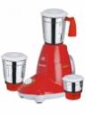 Orange Neo Smart 550 W Mixer Grinder(Red, 3 Jars)