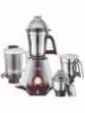 Preethi Taurus 750 W Mixer Grinder(white and purple, 4 Jars)