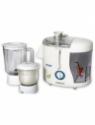 Silverline Kitchen Master 600 W Juicer Mixer Grinder(White, 2 Jars)