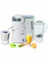 Unichef Juice-O-Matic Plus XL Series 835 W Juicer Mixer Grinder(White, 2 Jars)
