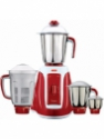V-Guard Inspira 4 Jar 750 W Juicer Mixer Grinder(Red, 4 Jars)