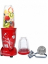 Wonderchef Nutri-blend Red with Free 2 in 1 Peeler 400 W Mixer Grinder(Red, 2 Jars)