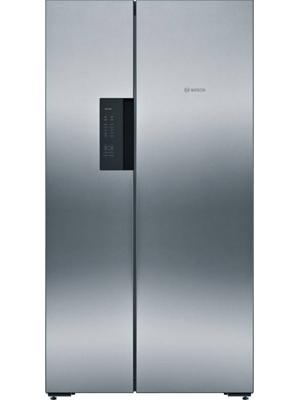 Bosch 659 L Frost Free Side by Side Refrigerator (KAN92VI35I)