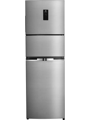 Electrolux 370 L Frost Free Triple Door Refrigerator(EME3700MG, Slate Silver, 2017)