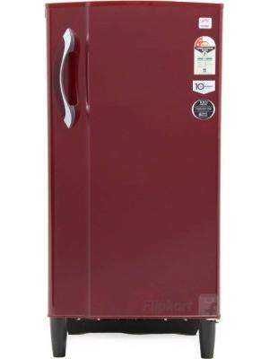 Godrej 185 L Direct Cool Single Door Refrigerator(RD EDGE 185 E2H 2.2, Wine Red, 2017)