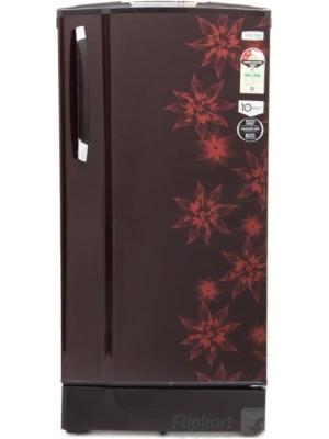 Godrej 185 L Direct Cool Single Door Refrigerator(RD EdgeSX 185 PM 2.2 Muziplay, Berry Bloom, 2017)