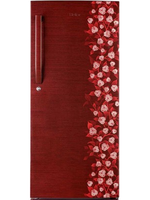 Haier 195 L Direct Cool Single Door Refrigerator(HRD-2157CRI-R, Red Floral)