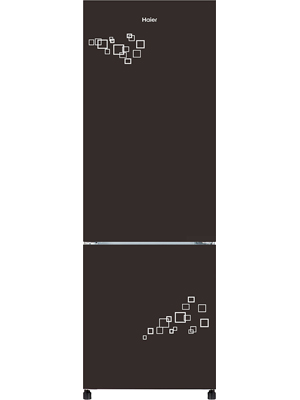 Haier 231 L 8 in 1 Convertible Double Door Refrigerator HRB-2764PMG-E